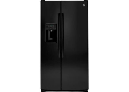 GE - GSS25GGHBB - Side-by-Side Refrigerators