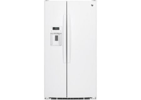 GE - GSS25GGHWW - Side-by-Side Refrigerators