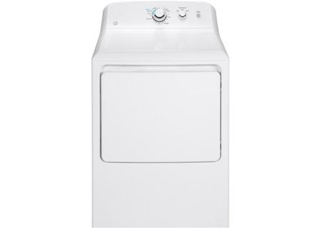 GE 7.2 Cu Ft Front Loading White Electric Dryer - GTD33EASKWW