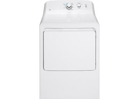 GE White Gas Dryer - GTX33GASKWW