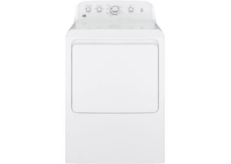 GE 7.2 Cu Ft Front Loading White Electric Dryer - GTD42EASJWW