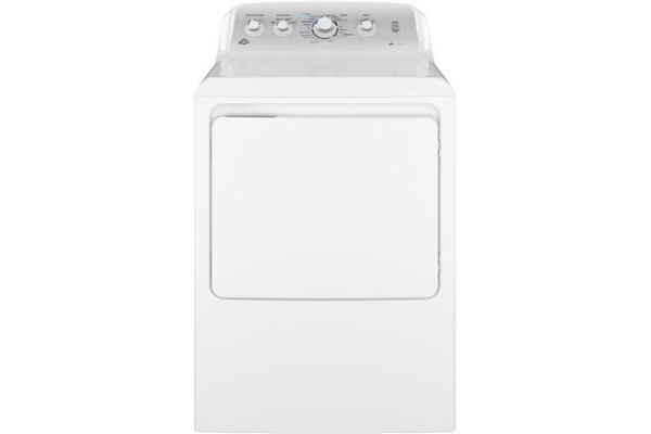 GE 7.2 Cu Ft Front Loading White Electric Dryer - GTD45EASJWS
