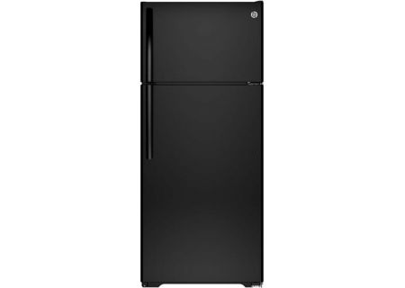 GE 17.5 Cu. Ft. Black Top Freezer Refrigerator - GTE18CTHBB