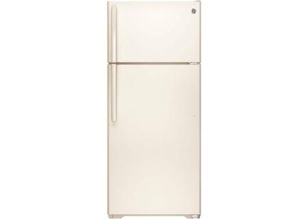 GE 17.5 Cu. Ft. Bisque Top Freezer Refrigerator - GTE18CTHCC