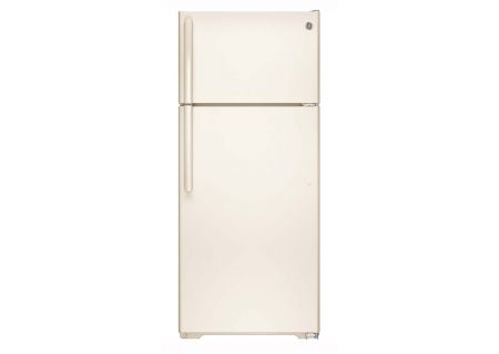 GE Bisque 17.5 Cu.Ft Top-Freezer Refrigerator - GTE18GTHCC