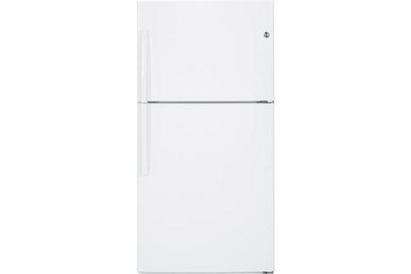 GE White Top Freezer Refrigerator - GTE21GTHWW