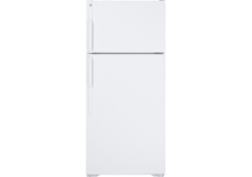 GE - GTH17DBDWW - Top Freezer Refrigerators