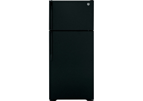 GE - GTH17GBEBB - Top Freezer Refrigerators