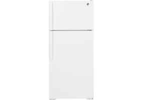 GE - GTH17GBEWW - Top Freezer Refrigerators