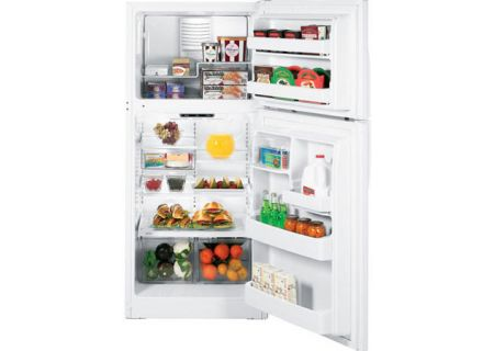 GE - GTH18IBXWW - Top Freezer Refrigerators