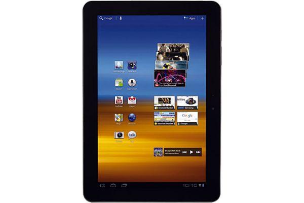 Large image of Samsung 32GB Galaxy Tab Wi-Fi Tablet - GTP7510MAVXAB