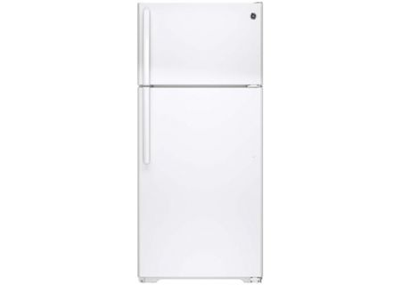 GE 15.5 Cu Ft White Top Freezer Refrigerator - GTS16DTHWW