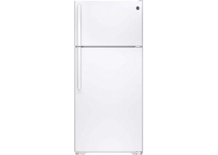 GE White Top-Freezer Refrigerator - GTS16GTHWW