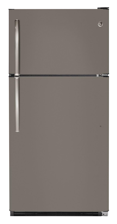 Design Ge Slate Refrigerator ge slate top freezer refrigerator gts21fmkes refrigerators