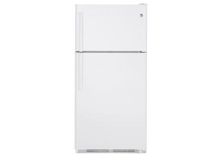 GE White Top-Freezer Refrigerator - GTS21FGKWW