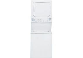 GE - GTUN275EMWW - Stackable Washer Dryer Units