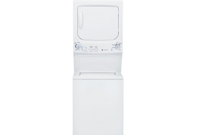 GE - GTUN275GMWW - Stacked Washer Dryer Units