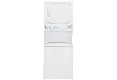 GE - GTUP270EMWW - Stackable Washer Dryer Units