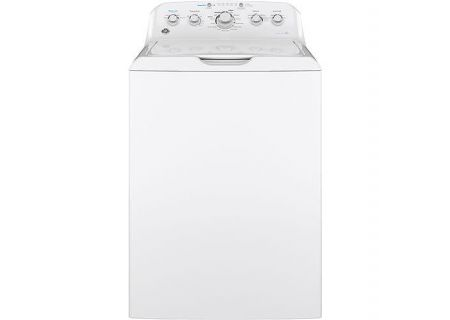GE 4.5 Cu. Ft. White Top Loading Washer - GTW465ASNWW