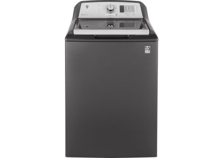 GE Diamond Gray Top Loading Washer - GTW685BPLDG