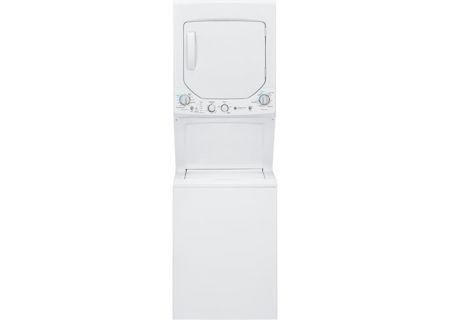 GE - GUD24GSSJWW - Stacked Washer Dryer Units
