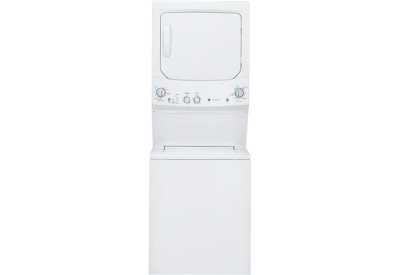 GE - GUD27GSSJWW - Stacked Washer Dryer Units