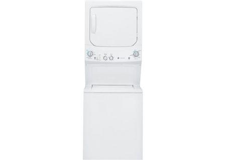 GE - GUD27GSSJWW - Stacked Washer Dryer Units