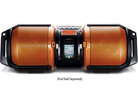 Sharp - GX-M10 - Boomboxes & Portable CD Players