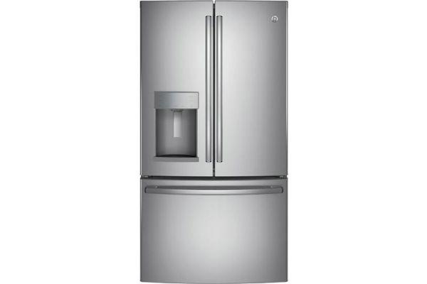 GE Stainless Steel French-Door Bottom Freezer Refrigerator - GYE22HSKSS