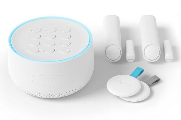Large image of Google Nest Secure Alarm System Starter Pack - H1500ES