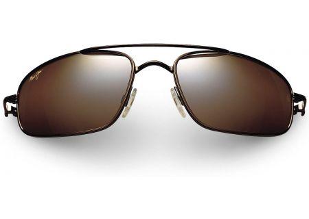 Maui Jim Kahuna Oval Metalic Gloss Copper Unisex Sunglasses - H162-23