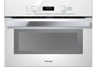 Miele - H6200BMWH - Single Wall Ovens