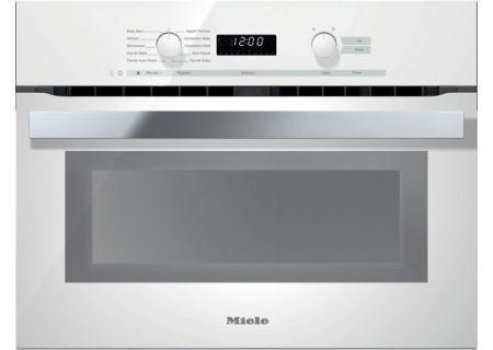 Miele - H6200BMWH - Single Wall Ovens