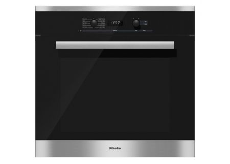 "Miele 30"" PureLine Stainless Steel Convection Wall Oven - H6280BPSS"