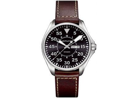 Hamilton Khaki Pilot Quartz Mens Watch - H64611535