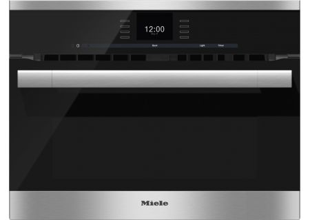 "Miele 24"" Stainless Steel ContourLine SensorTronic Speed Oven  - H6500BM"