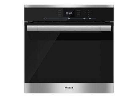 Miele - H6560BSS - Single Wall Ovens