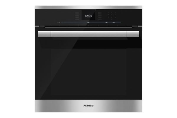 """Large image of Miele 24"""" ContourLine Stainless Steel Convection Wall Oven - 09769400"""