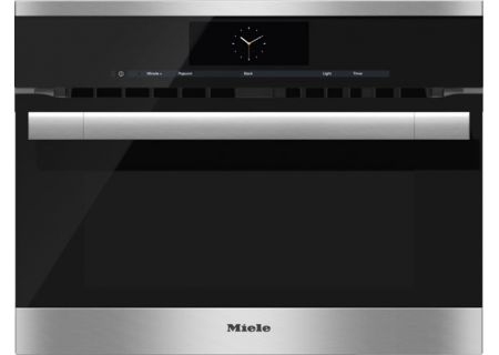 """Miele Built-In Stainless Steel 24"""" ContourLine M Touch Speed Oven  - H6700BMSS"""