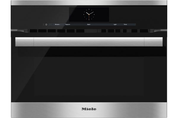 """Large image of Miele Built-In Stainless Steel 24"""" ContourLine M Touch Speed Oven - 09769640"""