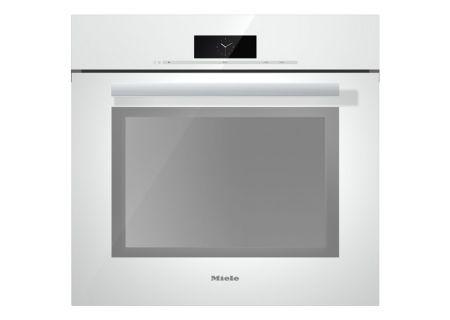 """Miele 30"""" PureLine Brilliant White Convection Wall Oven - H6880BPWH"""