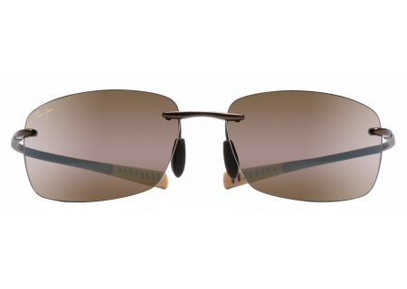 Maui Jim Kumu Metallic Gloss Copper Mens Sunglasses - H724-23