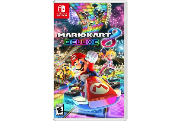 Large image of Nintendo Switch Mario Kart 8 Deluxe Video Game - 045496590475