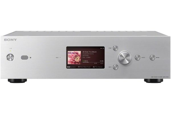 Large image of Sony Silver Hi-Res Music Player With 1TB HDD - HAPZ1ES