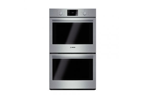 """Bosch 500 Series 30"""" Stainless Steel Electric Built-In Double Wall Oven - HBL5651SS"""