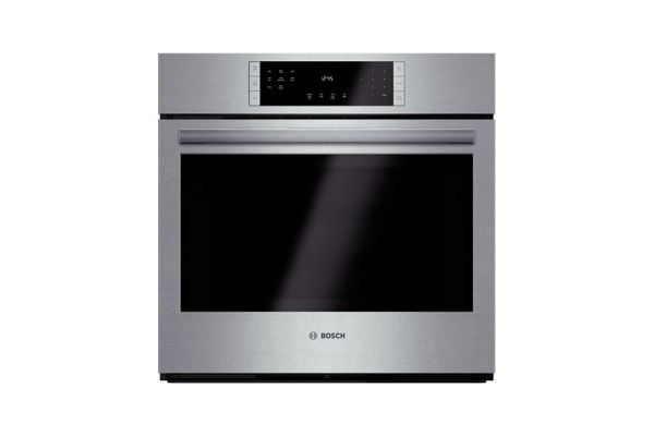 """Bosch 800 Series 30"""" Stainless Steel Electric Built-In Single Wall Oven - HBL8451SS"""