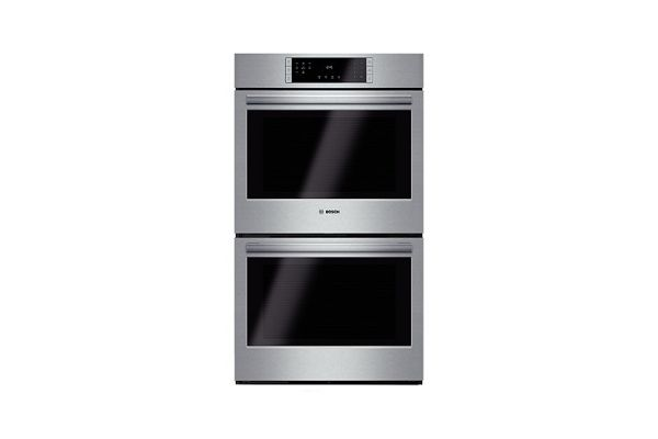 """Large image of Bosch 800 Series 30"""" Stainless Steel Electric Built-In Double Wall Oven - HBL8651UC"""