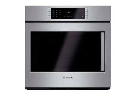 "Bosch 30"" Benchmark Series Stainless Steel Single Wall Oven - HBLP451LUC"