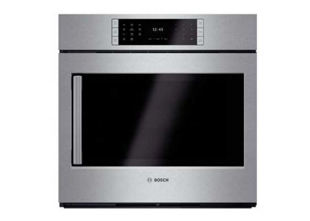 "Bosch 30"" Benchmark Series Single Stainless Steel Wall Oven - HBLP451RUC"