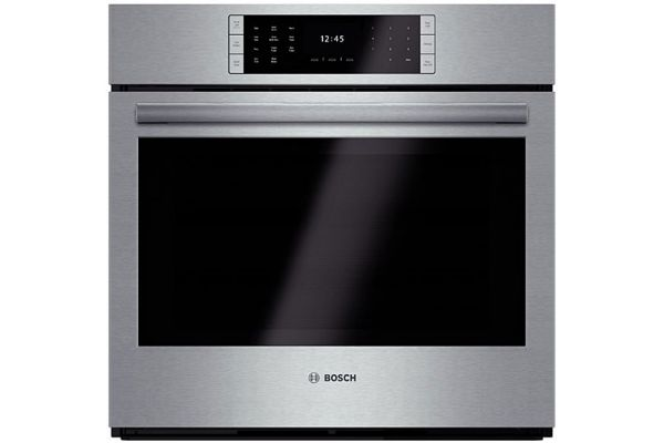 """Bosch 30"""" Benchmark Series Stainless Steel Single Wall Oven - HBLP451UC"""